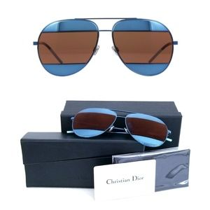 Christian Dior Split 1 Aviator Sunglasses
